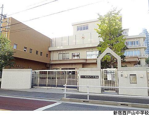 店舗(建物一部)-新宿区高田馬場4丁目 新宿西戸山中学校