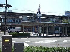駅明石駅まで2890m