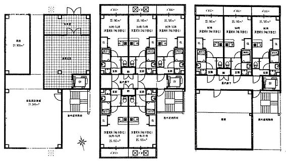 土地-大阪市東住吉区駒川2丁目 建物予想間取図