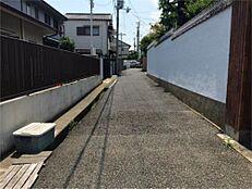 前面道路(私道幅員3m)
