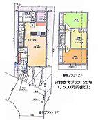 建物プランで1500万円