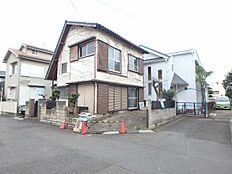 現地外観 昭和48年築の古家あり
