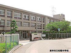 松陽中学校 約1550m