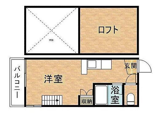 アパート-長崎市石神町 間取り