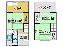 京都市山科区東野北井ノ上町