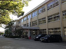 浜の宮中学校(約1800m)