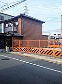 2014年3月フェンス設置直後
