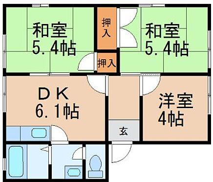 マンション(建物全部)-和歌山市和歌浦南3丁目 間取り