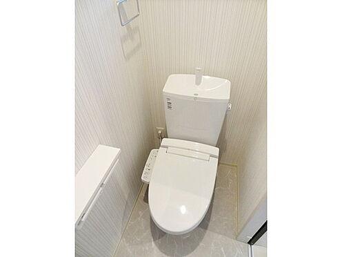 アパート-白山市北安田町 トイレ