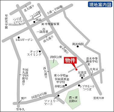 マンション(建物全部)-つくば市梅園2丁目 地図