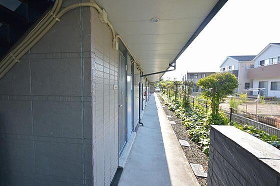 アパート-大垣市南若森4丁目 緑豊かな解放感ある共有廊下