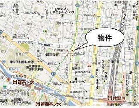 ビル(建物全部)-千代田区外神田2丁目 地図
