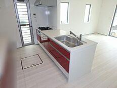 施工例写真 食洗機付キッチン
