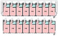 JR横浜線「淵野辺」駅 一棟売アパート 間取り図