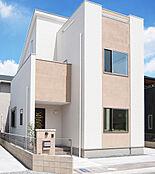 いつでも見学できます-平岡南モデルハウス-アースカラーの優しい空間