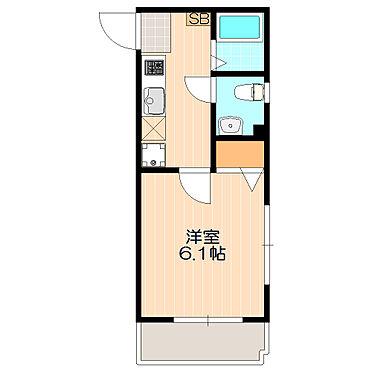 マンション(建物全部)-練馬区富士見台2丁目 単身者向けの住みやすい間取り。