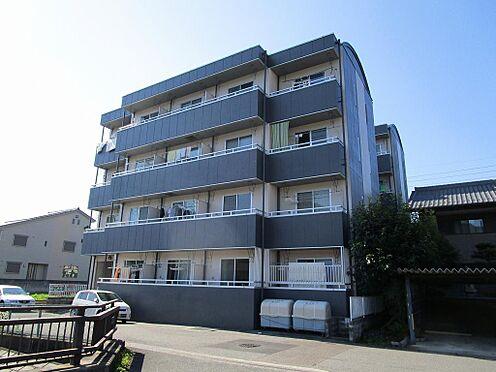 マンション(建物全部)-岐阜市日野南7丁目 平成6年築。シックな2トーンカラーがお洒落な外観。