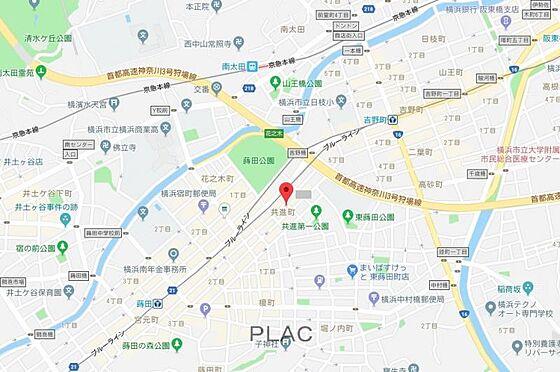 マンション(建物全部)-横浜市南区共進町1丁目 地図