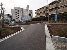 全4区画の新規開発現場