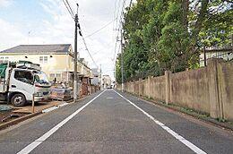 前面道路(南東)