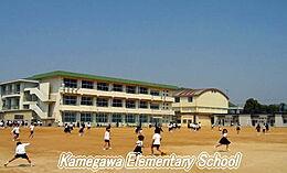 小学校亀川小学校まで2517m