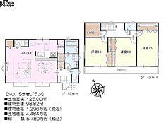 5号地 建物プラン例(間取図) 狛江市和泉本町4丁目