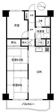 マンション(建物一部)-浜松市中区住吉2丁目 住吉カトレアマンション間取り