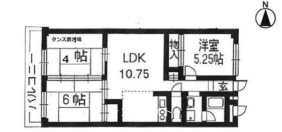 マンション(建物一部)-京都市南区吉祥院御池町 間取り