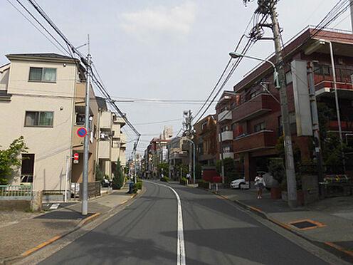 マンション(建物全部)-板橋区常盤台3丁目 前面道路(北側)