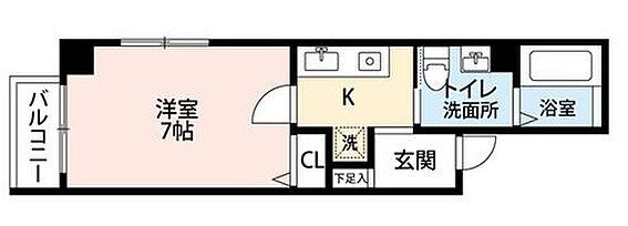 マンション(建物全部)-大阪市中央区松屋町住吉 間取り
