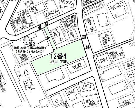 マンション(建物全部)-福岡市南区井尻3丁目 敷地配置図
