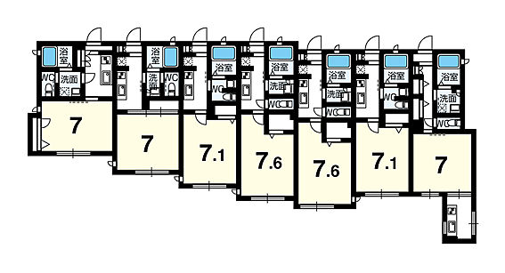 マンション(建物一部)-船橋市海神2丁目 間取り