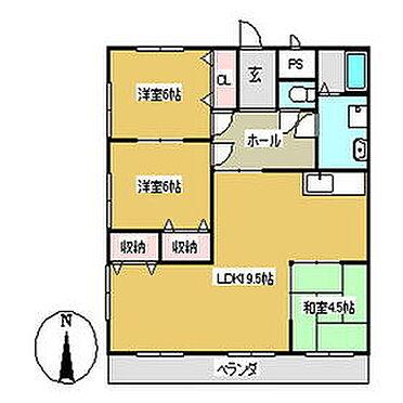 マンション(建物全部)-豊川市御津町大草新田 間取り