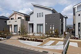 当社施工例 土地と建物のセットプランではありません。