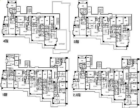 マンション(建物全部)-藤沢市鵠沼海岸4丁目 間取り