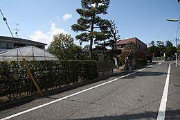 前面道路3(2014/4/14撮影)
