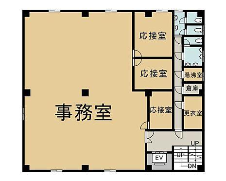 ビル(建物全部)-新宿区北新宿4丁目 3階 間取り図
