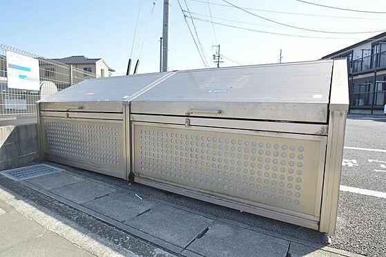 アパート-津市久居野村町 入居者様専用のゴミ置き場.