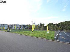接道状況および現場風景 西東京市中町3丁目