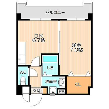 ビル(建物全部)-福岡市城南区南片江1丁目 室内設備充実の広々1DK