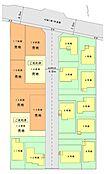 16区画は、きれいな整形地ですので、様々な間取りに対応することが可能です。