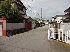 2016年10月撮影 周辺道路