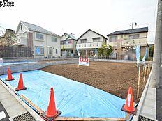 1号地 現地写真 西東京市富士町2丁目