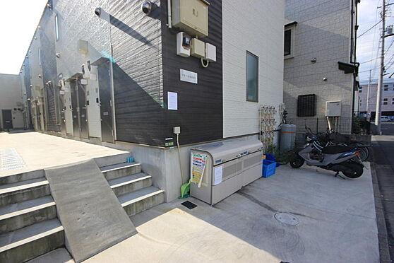 アパート-足立区谷在家3丁目 敷地内ゴミ置場つき