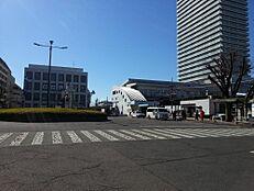 西武新宿線「東村山」駅 西武新宿駅まで快速急行で26分 1599m