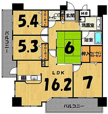 マンション(建物一部)-佐賀市鍋島1丁目 間取