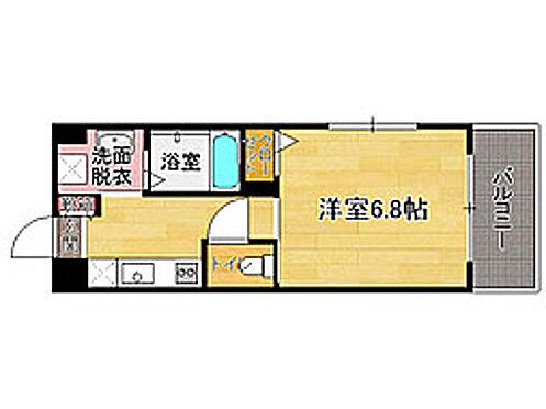 マンション(建物全部)-福岡市中央区黒門 間取り図