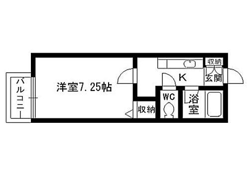アパート-仙台市泉区天神沢 間取り