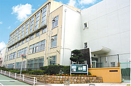 霞ヶ丘小学校(580m)