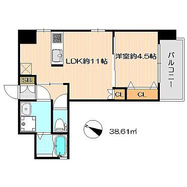 ビル(建物全部)-福岡市中央区高砂2丁目 使い勝手の良い1LDK